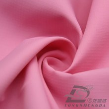 Wasser & Wind-resistent Outdoor Sportswear Daunenjacke gewebte Pfirsich Haut Plaid Jacquard 100% Polyester Pongee Stoff (63064)
