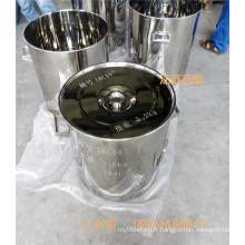 Tambour en acier inoxydable SUS 304 SUS 316L 10L - 200L