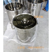 SUS 304 SUS 316L Stainless Steel Drum 10L - 200L