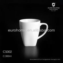 Caneca de café quadrada porcelana por atacado