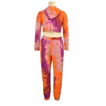 Vente directe d'usine deux pièces ensemble femmes vêtements automne coton à manches longues dames top chemisier chemise