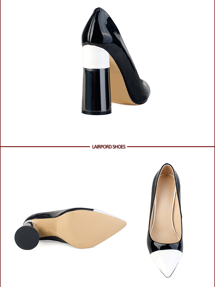 high black heel shoes