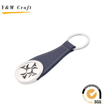 Hot Sale Leather Metal Keyring for Gift
