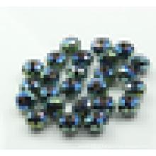 Perles de rondelle cristal, perles de verre arc-en-ciel, perles de cristal rondelles