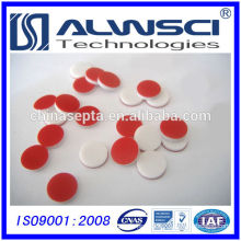8mm Red PTFE/White Silicone liner for Shimadzu vial