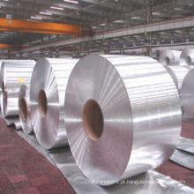 Fabricação de fitas de alumínio ignífugas