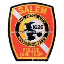 Embroidered Patch, Available in Customized Designs, Different Sizes and Styles are Available