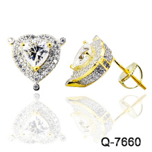 New Design 925 Silver Fashion Earrings Jewelry (Q-7660. JPG.)