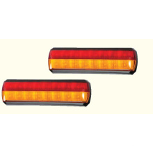 Lampe d'arrêt à deux lignes à LED pour camion