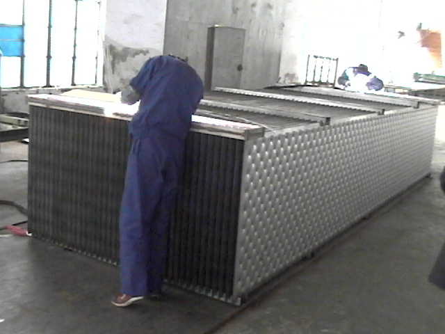 tube plate heat exchanger