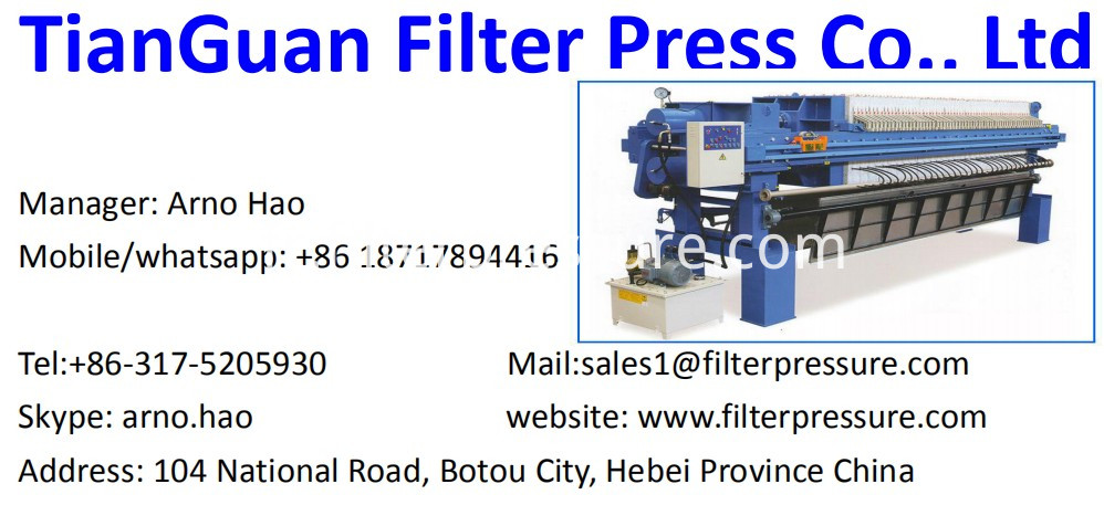 Filter Press Name Card