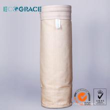 1 metro de longitud de tejido de colector de filtración de polvo de bolsillo PPS
