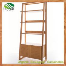 Bamboo Bookcase Storage Rack (EB-B4168)