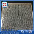 Maille expansée de papier d'aluminium