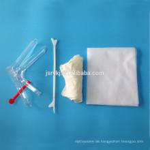Einweg sterile gynäkologische Kits