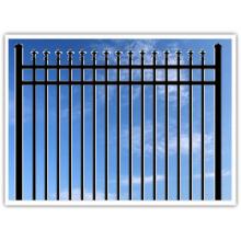 Venta caliente de acero ornamental valla SL72