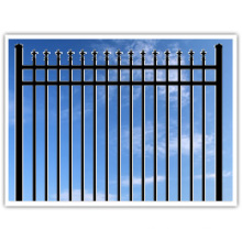 Hot Selling Ornamental Steel Fence SL72