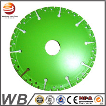 Turbo Saw Blade for Cutting Building Materials, Like Concrete