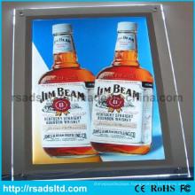 LED Acrylic Crystal Panel Light Box