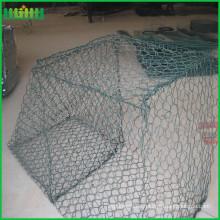 Profesional cesta de gabion alta hexagonal (fábrica) cesta de gabion con alta calidad