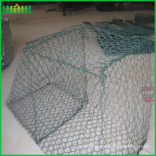 pvc coated hexagonal net woven gabion