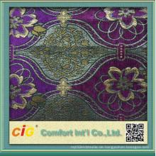 Polyester Material Jacquard Design Sofa Stoff