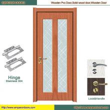 Puerta de la puerta de madera