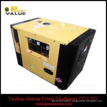 Générateur diesel à refroidissement par air de type ouvert 8kVA