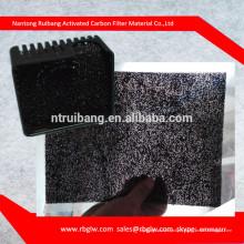fabrication de filtre de coton charbon actif de haute qualité