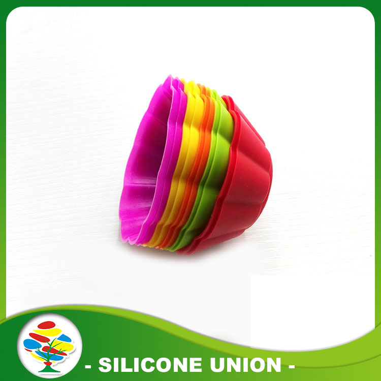 Reusable Silicone Mini Baking Cup Cake Mold