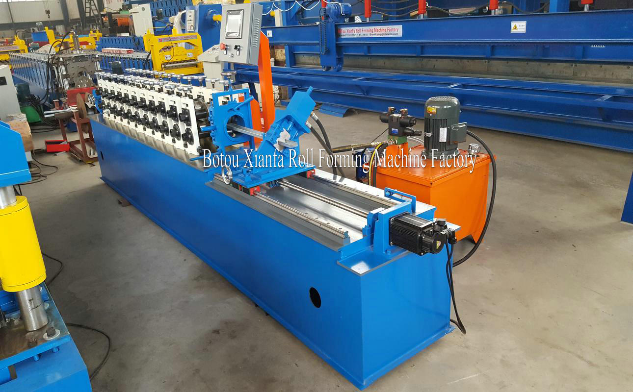 furring channel light steel framing roll forming machine