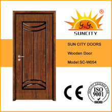 MDF geschnitzte einzelne öffnende Türen