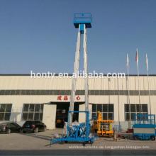 14m 250kg Hubarbeitsbühne Elektro-Heimgebrauch Hochhaus Mann Fensterreinigung Aufzug