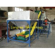 Nueva unidad de trituradora de plástico de alto rendimiento con tolva de carga
