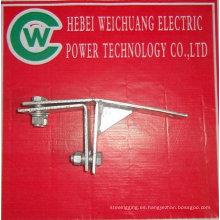 clip de cable galvanizado en caliente utilizado para la torre