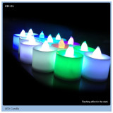 bright led ball candle