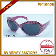 Sol flor marco gafas de sol (FK15026)