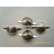 Estampación de plata de alta calidad garras de metal garra