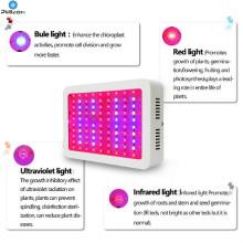 LED Grow Light Гидропонные растения Veg Цветочная лампа