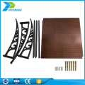 Cheap 1.22*2.44m plastic pc Anti Static factory price printing polycarbonate sheet