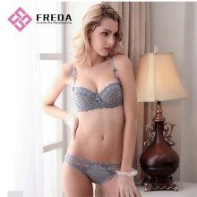 Ladies new style plus size bra set online