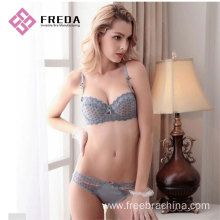 One of Hottest for Womens Lingerie Ladies new style plus size bra set online export to France Factories