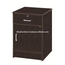 Side Cabinet, Kleine Schließfach Schrank, Nachttisch, Wooden Utility Shelf