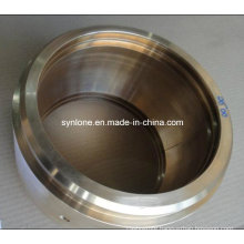 Brass Bearing Bush with CNC Machining