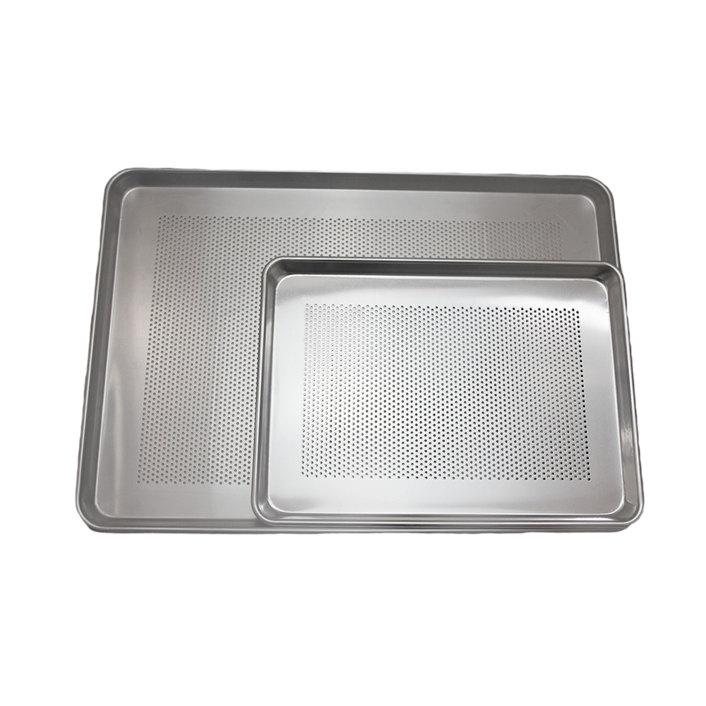 Non Stick Aluminum Perforated Sheet Pan For Bread Baking