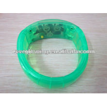 led flash in dark bracelet hot sell 2017