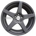 19「ADV1 マット ブラック カスタム スタイル アルミニウム合金車輪の縁