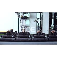 Machine de production de fabrication d'armature de mélangeur entièrement automatique