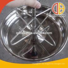 Galvanisierte Stahlpferdezufuhr / Plastiktrog