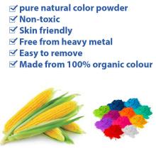 Food grade natural rangoli holi powder for event